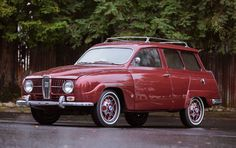 1967 Saab 95 Wagon - for the puppies