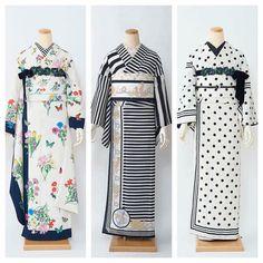 Yukata Kimono, Kimono Outfit, Kimono Jacket, Kimono Fashion, Traditional Japanese Kimono, Modern Kimono, Japan Outfit, Kimono Design, Japanese Costume