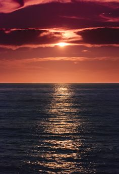 Ocean View Sunset in San Diego Beautiful Sunset, Beautiful World, Beautiful Places, San Diego, Amazing Sunsets, Amazing Nature, Landscape Photography, Nature Photography, Nature Landscape