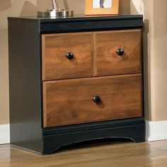Aimwell Two Drawer Night Stand by Signature Design by Ashley