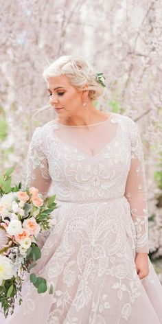 Wonderful Perfect Wedding Dress For The Bride Ideas. Ineffable Perfect Wedding Dress For The Bride Ideas. Wedding Dress Sleeves, Long Sleeve Wedding, Modest Wedding Dresses, Stunning Wedding Dresses, Bridal Dresses, Gown Wedding, Couture Dresses, Lace Sleeves, Dresses Dresses