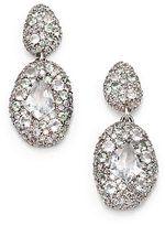 green quartz drop earrings-alexis bittar fine grey diamond light green sapphire quartz sterling silver doubledrop earrings