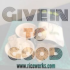 Give in to good with riceworks crisps! #glutenfree #snacks