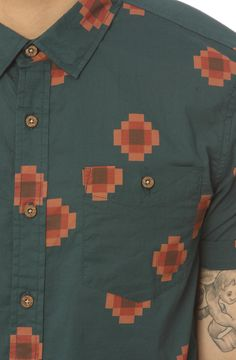 Zanerobe Buttondown Shirt Zen in Jade