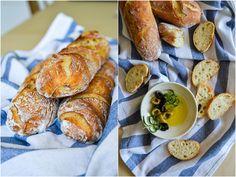 S vášní pro jídlo: Francouzské bagety Pretzel Bites, French Toast, Good Food, Bread, Menu, Baking, Breakfast, Interesting Recipes, Russian Recipes