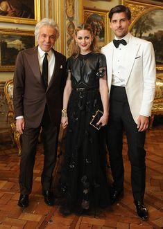 Giancarlo Giammetti, Olivia Palermo and Huebl Johannes