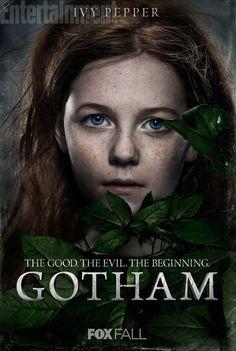 gotham tv show poison ivy   Gotham Poison Ivy character poster Gotham Character Posters Feature ...