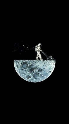 Illustrations Discover Astronaut Moon Lawnmower (Saving battery for Amoled display) Space Artwork Wallpaper Space Aesthetic Iphone Wallpaper Galaxy Wallpaper Black Wallpaper Aesthetic Wallpapers Wallpaper Backgrounds Astronaut Wallpaper Amoled Wallpapers 1440x2560 Wallpaper, Wallpaper Fofos, Tumblr Wallpaper, Aesthetic Iphone Wallpaper, Galaxy Wallpaper, Wallpaper Backgrounds, Aesthetic Wallpapers, Space Drawings, Space Artwork