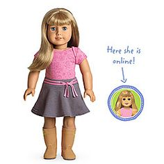 Alexa just received an American Girl doll.  I cannot believe how expensive the clothes and accessories are!!!  She already wants a doll bed and pajamas.