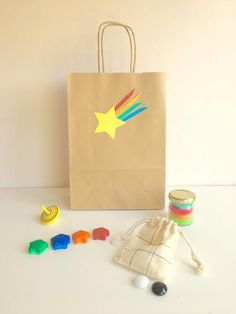 Pre-Filled Eco-friendly Party Bags - Shooting Star Theme No plastic - Trend Lingerie Party 2019 Bunny Birthday, Birthday Crafts, 4th Birthday, Birthday Cake, Kid Party Favors, Party Party, Party Ideas, Childrens Party Bags, Eco Friendly Toys