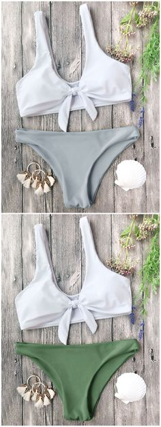 Up to 80% OFF! Padded Knotted Bralette Bikini Set. #Zaful #Swimwear #Bikinis zaful,zaful outfits,zaful dresses,spring outfits,summer dresses,Valentine's Day,valentines day ideas,cute,casual,fashion,style,bathing suit,swimsuits,one pieces,swimwear,bikini set,bikini,one piece swimwear,beach outfit,swimwear cover ups,high waisted swimsuit,tankini,high cut one piece swimsuit,high waisted swimsuit,swimwear modest,swimsuit modest,cover ups,swimsuit cover up @zafulbikini Extra 10% OFF…