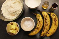#letsgetfoodie3 – Flambé-ed banana muffins