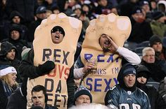 Eagles fans love Rex Ryan's foot fetish.
