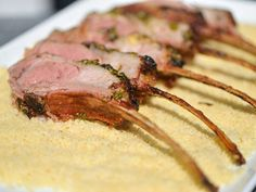 Grilled Moroccan-Spiced Rack of Lamb