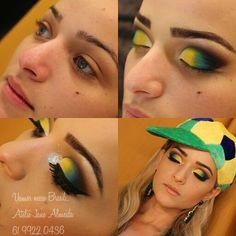 Make Brasil 2014 Ateliê Jane Almeida Makeupartist Jane Almeida Atelier paris Modelo @Marina Araújo @Jane Pires de Almeida