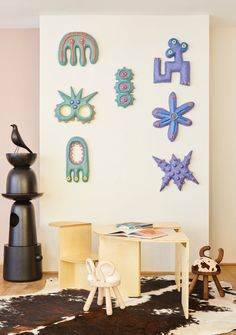 """Kinder MODERN and Design Within Reach collaborated on """"A Playful Home,"""" a shoppable installation in New York City. #dwell #howtodesignakidsroom #kidsroom #moderndesign #howto #diy #designtips Design Within Reach, Modern Kids, Prefab Homes, Kids Corner, Design Firms, Playroom, Kids Room, Modern Design, Diy Projects"""