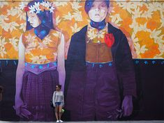 Une fresque de Inti dans #Wynwood Walls à #Miami #streetart