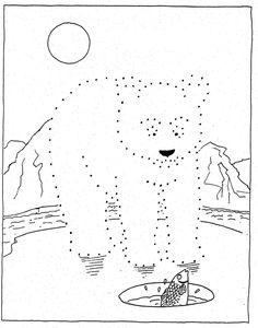 KleuterDigitaal - wb punten ijsbeer