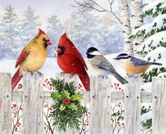 """Fence Friends"" by Maureen McCarthy"