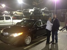 Another happy customer!     Congratulations Judy on your 2012 Toyota Camry!