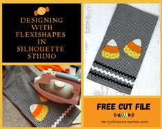 Designing with Flexishapes in Silhouette Studio — and FREE Cut file!