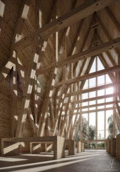 Beautiful wooden chapel