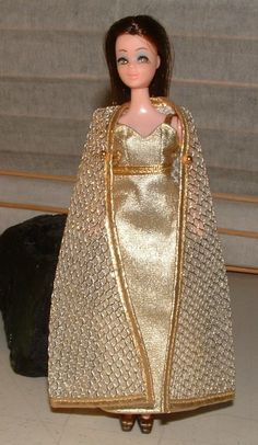 1970 Dawn doll clothes  All that Glitters Gown by CelwinsCloset