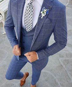 Men suits for the modern man. big tall mens designer suits, best mens designer suits, click visit link for Formal Suits, Men Formal, Formal Wear, Mens Fashion Suits, Mens Suits, Groom Suits, Navy Suits, Mens Brown Suit, Mens Slim Fit Suits