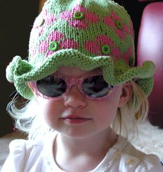 Fun Colorful Easy Knitting Pattern for Child's by MNCustomWoolens, $3.95