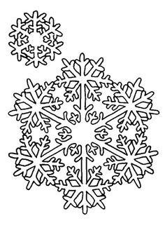 free printable snowflake coloring pages pinterest color sheets activities and winter