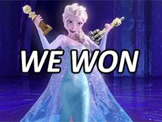 Frozen (2013) best animated picture - golden globes best animated picture - academy awards