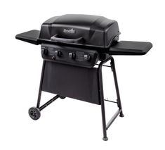 Clic 4 Burner Propane Gas Grill With Side Shelves
