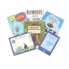 """""""Glimpses of Nature"""" Children's Book Set Featuring 5 Nature Themed Picture Books & Toysmith's Solar Print Paper. Free Gift Wrapping! $64"""