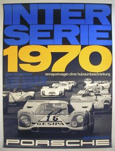 Porsche Interserie 1970