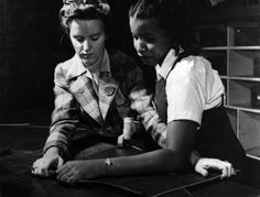 """Rosie the Riveter, from the documentary production of """"The Life and Times of Rosie the Riveter"""" (www.clarityfilms.org)"""