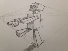 1 point perspective robot - Google Search