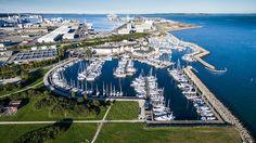 #Marselisborg #marina, #Aarhus, Denmark, #CoolDrone video