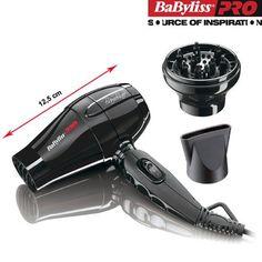 Babyliss Pro Bambino - Uscator de par profesional, ideal pentru calatorii