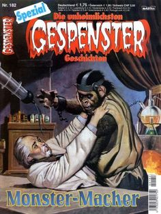 Gespenster Geschichten Spezial #182 - Monster-Macher