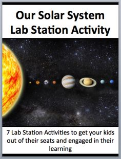 This fully editable Lab Station Activity on Our Solar System and its Production is meant to get your students out of their seats and engaged in the content.