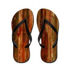 Walk The Plank Flip Flops by valxart.com  See more Flip-flops at http://www.pinterest.com/valxart/fancy-flip-flops-by-valxartcom/