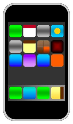 Thinking of making an iphone themed math bulletin board using the apps as each of the math strands with the key vocabulary. Now to create it!