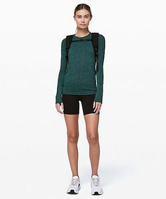 Shop the Swiftly Speed Long Sleeve Long Sleeve Tops, Short Sleeves, Short Weave, Hot Shorts, Athletic Outfits, Active Wear, Pullover, How To Wear