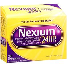 Nexium 24-Hour Delayed Release Heartburn Relief (28-Count Capsules) * Find out more about the great product at the image link.  This link participates in Amazon Service LLC Associates Program, a program designed to let participant earn advertising fees by advertising and linking to Amazon.com.