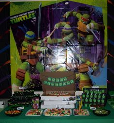 Teenage Mutant Ninja Turtles Birthday Party Ideas | Photo 16 of 39 | Catch My Party