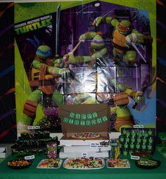 Teenage Mutant Ninja Turtles Birthday Party Ideas | Photo 16 of 39 | Catch My Party
