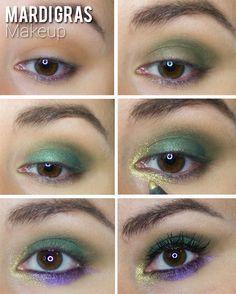 Mardi Gras Makeup Look More