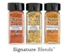 Organic Spices - Primal Palate | Paleo Recipes