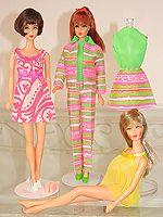 Barbie Mod Era - Sears Fashion Bouquet - Pink