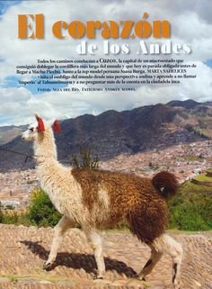 Conde Nast Traveler Cusco